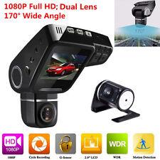 170°Dual Lens Car DVR Camera C10s Plus Full HD 1080P LCD Video Recorder Dash Cam
