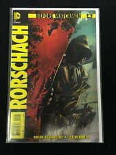 Before Watchmen - Rorschach # 4 - Variant
