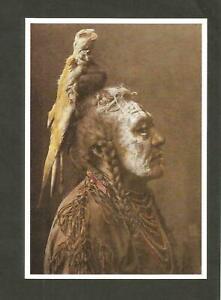 CARTE POSTALE INDIEN AMERIQUE CROW APSAROKE TWO WHISTLESC CROW