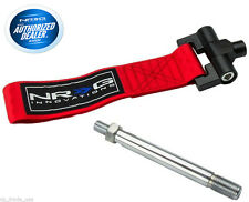 NRG Front Tow Hook Strap Scion FR-S Subaru BRZ 2013-2015 TOW-122RD ( Red )