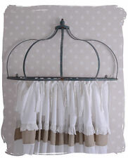 ANTIQUE CANOPY BED CANOPIES SHABBY CHIC BED CROWN CURTAIN ROD CROWN