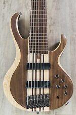 Ibanez BTB747 NTL 7-String Electric Bass, Natural Low Gloss, Bartolini Pickups