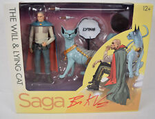 Saga Will Lying Cat Action Figure Skybound 2 Pack Image Signed Brian K Vaughan