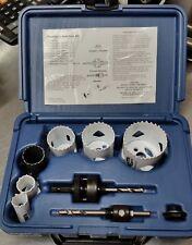 12 pc Kit #5 Hole Saw Kit Bi-Metal & Plastic Case