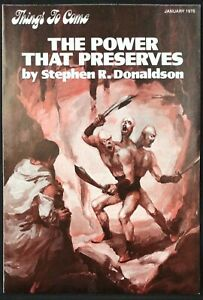 Things To Come Newsletter January 1978 The Power That Preserves by Stephen Don..