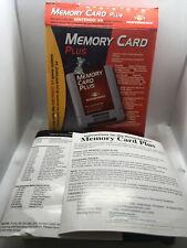 Nintendo 64 Memory Card Plus - BOX ONLY NO MEMORY CARD - Good Cond. - N64