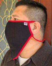 """520 Face cover for Beards Adjustable ear loops 9"""" x 11.5"""" big and tall Xxl"""