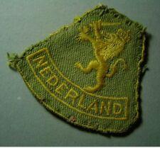 "1944 Prinses Irene Brigade - origineel MOUWEMBLEEM "" Nederland "" - Ned. Indië"