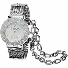 Charriol Women's ST30CS.560.016 'St Tropez' MOP Diamond Dial Swiss Quartz Watch