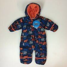 COLUMBIA SNUGGLY BUNNY DOWN SNOWSUIT ALL IN ONE CHILDRENS INFANTS RRP £45 A