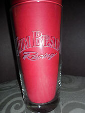 2004 VINTAGE  JIM BEAM RACING INDIANAPOLIS 500 88TH MAY 30, 2004 BEER GLASS