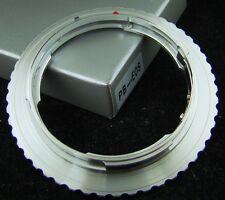 Praktica PB P B lens fit to Canon EOS EF camera adapter bronze
