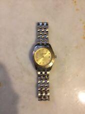 Lorelli Mens Stainless Steel Water Resistant Wrist Watch w/ New Battery