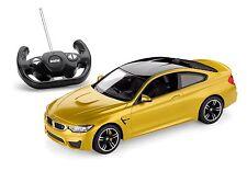BMW M4 F82 Coupe Remote Control 1:14 R/C Car Austin Yellow OEM 80442411559