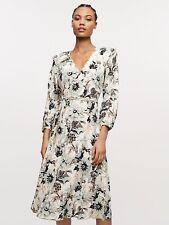 £476 Genuine DVF Dress, Diane Von Furstenberg Evelyn Reversible Midi Wrap Dress