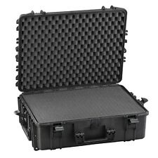Waterproof Suitcase Aircraft Hold Luggage Protective Hard Camera Case with Foam!