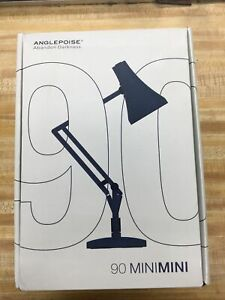 ANGLEPOISE 90 Mini Mini Lamps - Steel Blue & Grey + Adapter - Bran New