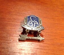 Camp Archery Association [CAA] Junior Bowman Bow Medal Lapel Hat Pin ~ COMPLETE