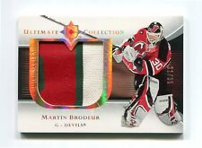 2005-06 Ultimate Collection Premium Patches 3 Colors  #PPMB Martin Brodeur 31/35