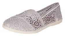 Soda Women's Cope Crochet Mesh Walking Shoes Loafer Flats