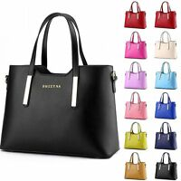 Women Ladies Handbag Shoulder Bag Leather Messenger Hobo Bag Satchel Purse Tote