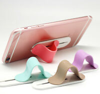 UK Cell Phone Finger Holder Grip Ring Stand Mount Bracket For iPhone Galaxy LG