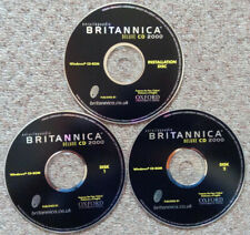 ENCYCLOPEADIA BRITANNICA 2000 DELUXE - CD-Rom - Windows - Oxford Dictionary