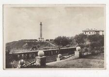 Biarritz Nouveaux Amenagements du Phare France RP Postcard 369a ^