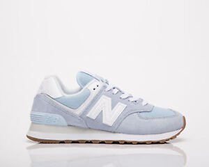 New Balance 574 Women's Uv Glo White Casual Lifestyle Sneakers Athletic Shoes