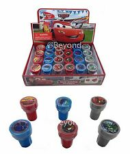 (24ct) Disney Cars McQueen Stamps Stampers Self-inking Birthday Party Favors