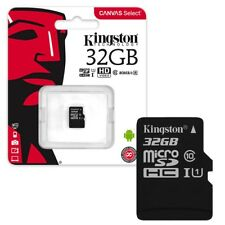 32GB Kingston Canvas Select Micro SD SDHC Memory Card 80MB/s UHS-1 Class 10 32GB