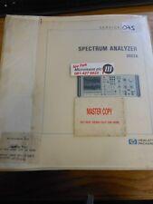 HP/Agilent 3582 un analyseur de spectre Service Manuel Loc: 075