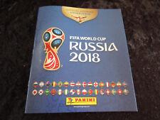 Panini WM 2018 Russia World Cup Komplett alle Sticker + Album   Int. Edition