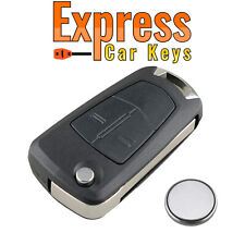 For Vauxhall Opel Corsa D AstraH Zafira B Vectra C 2 Button Remote Key Fob Case