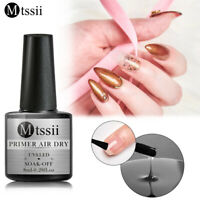 MTSSII Air Dry Primer Gel Nail Polish UV LED Lamp Soak Off Nails Manicure 8ML