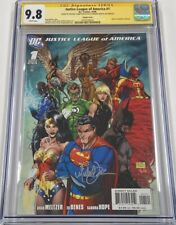 DC Comics Justice League of America #1 Variant Signed Michael Turner CGC 9.8 SS
