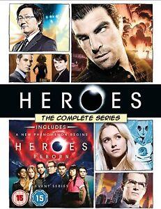 HEROES- THE COMPLETE SERIES- INCLUDES HEROES REBOOT BLU-RAY