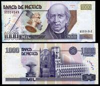 MEXICO 1000 1,000 PESOS 2002 P 121 SERIES A UNC