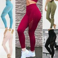 Women Seamless Push Up Training Gym Sport Leggings Fitness High Waist Yoga Pants