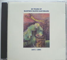 Manfred Mann's Earth Band - 20 years of Manfred Manns Earthband-UK-CD