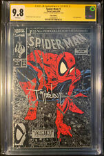 New ListingSpider-Man #1 Silver Edition Cgc Ss 9.8 Signed By Todd McFarlane