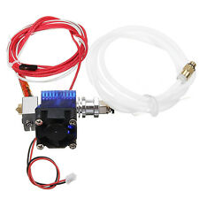 E3D-V6 Metal Extruder 1.75/0.4mm Extrusion For Makerbot Reprap 3D Printer + Fan