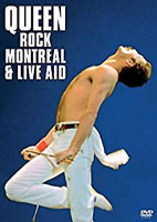 QUEEN ROCK MONTREAL 1981 + LIVE AID 1985 MUSIC CONCERT DVD Collection New UK