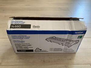 Genuine Brother TN-660 High Yield Black Toner Cartridge TN660 Laser Printer