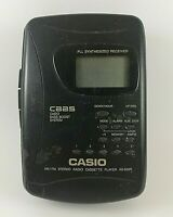 Vintage CASIO AS-650R WALKMAN Radio Cassette Player Japan for Parts or Repair