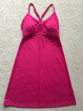 WOMENS ATHLETA SHOREBREAK SWIM SUN DRESS IN PRETTY PINK SZ XS EXCELLENT, CLEAN!