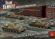 Flames of War BNIB Team Yankee 2S3 Acacia Heavy SP Howitzer Battery TSBX17