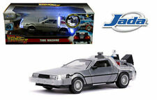 Delorean Time Machine W/Light Flying Ver. Back To The Future 2 1/24 Jada 31468