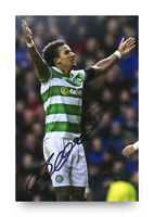 Scott Sinclair Hand Signed 6x4 Photo Celtic Genuine Autograph Memorabilia + COA