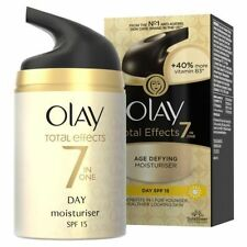 2 X Olay Total Effects 7 in One Age Defying Day Moisturiser Spf15 50ml